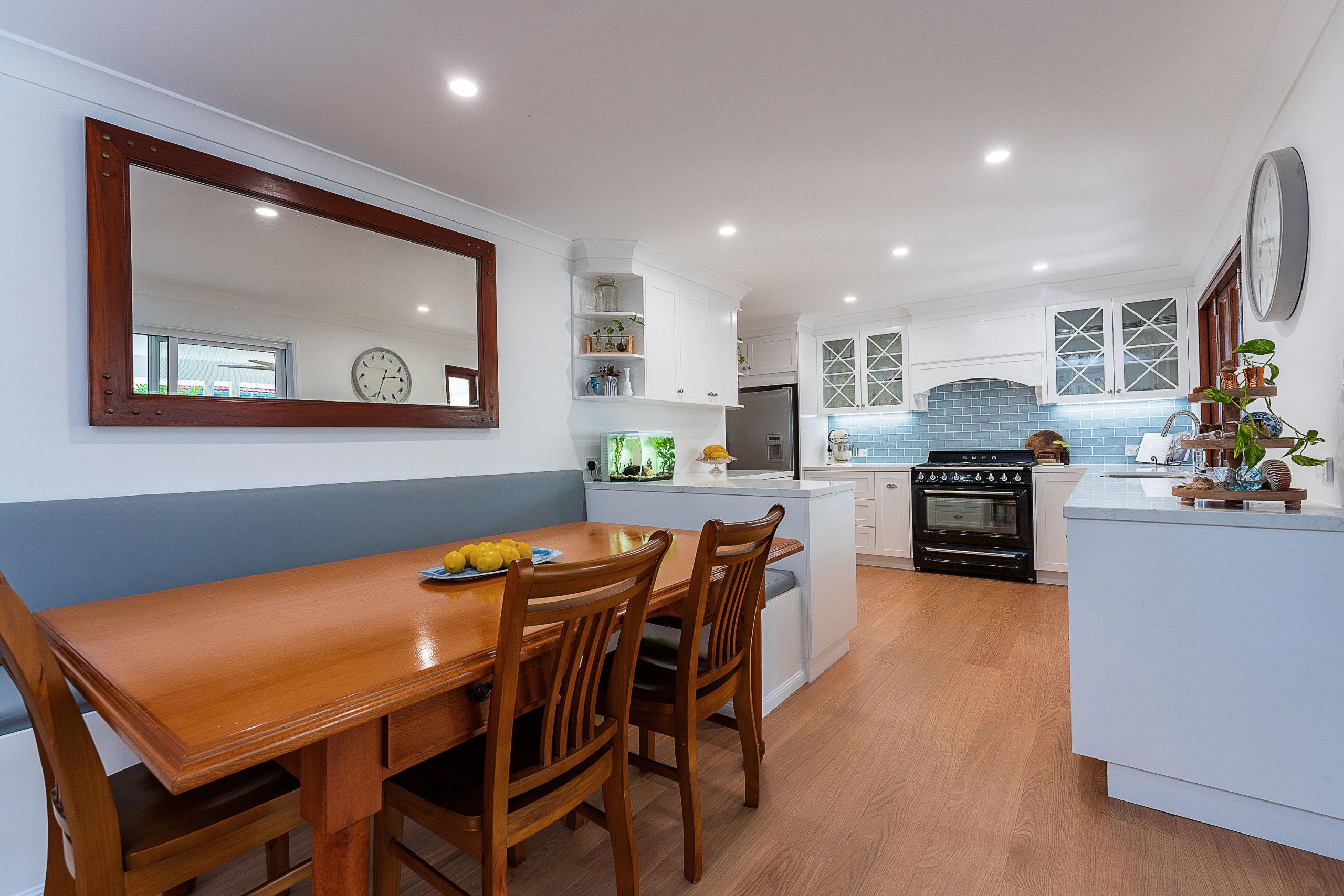 Dining for a ground floor renovation Belmont Brisbane