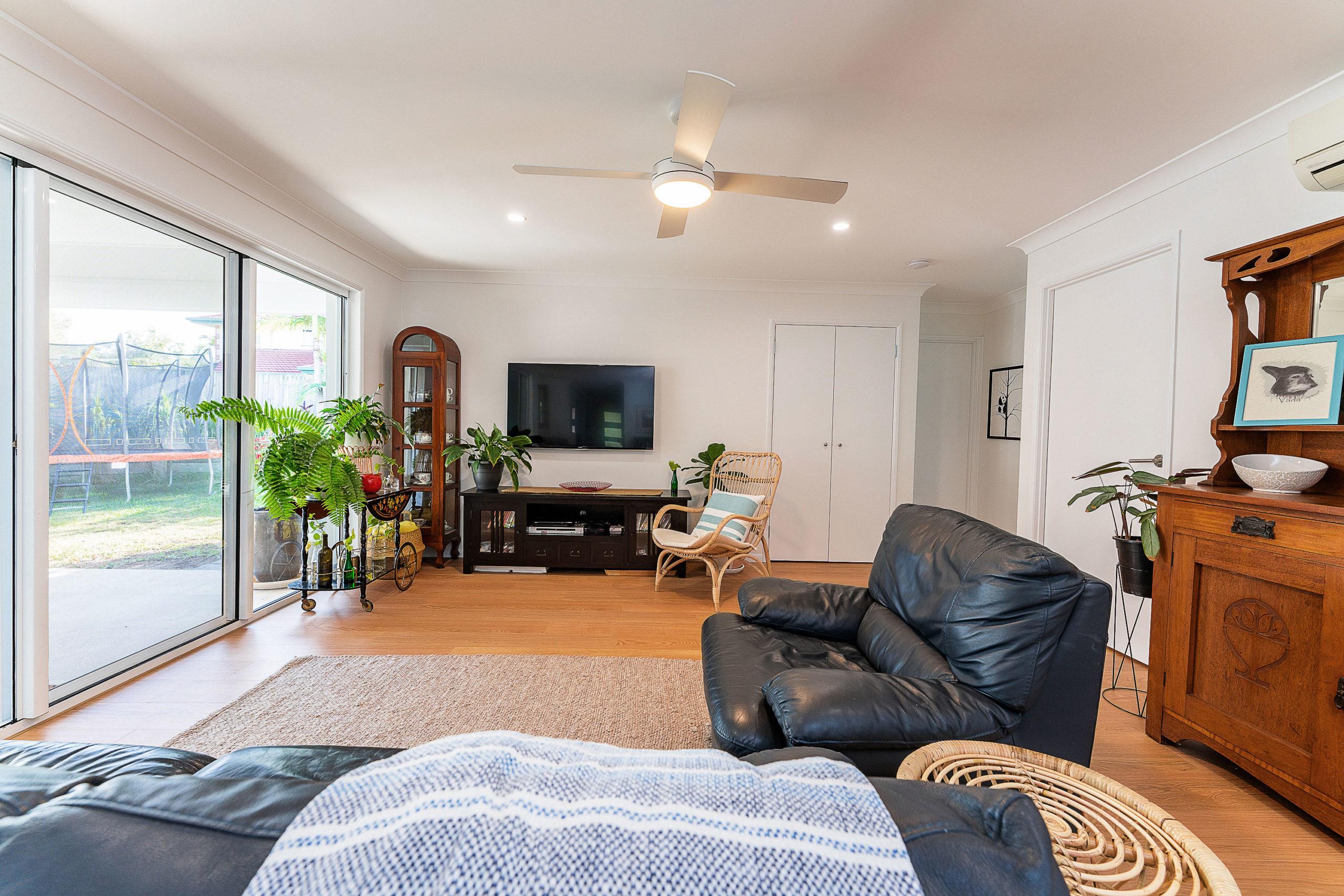 Living for a ground floor renovation Belmont Brisbane