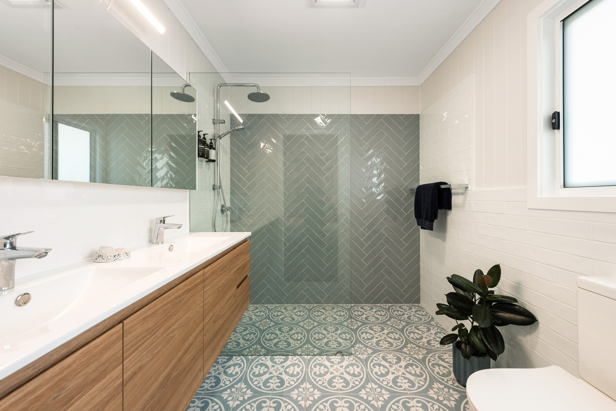 Ensuite for an extension in Oxley Brisbane