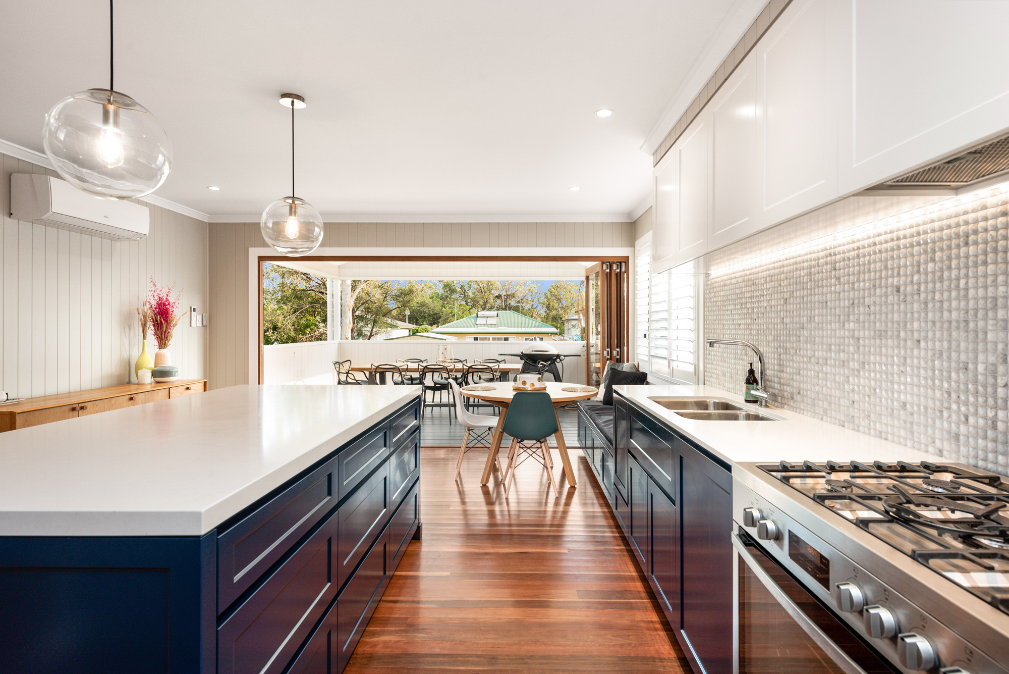 Kitchen for an extension in Oxley Brisbane