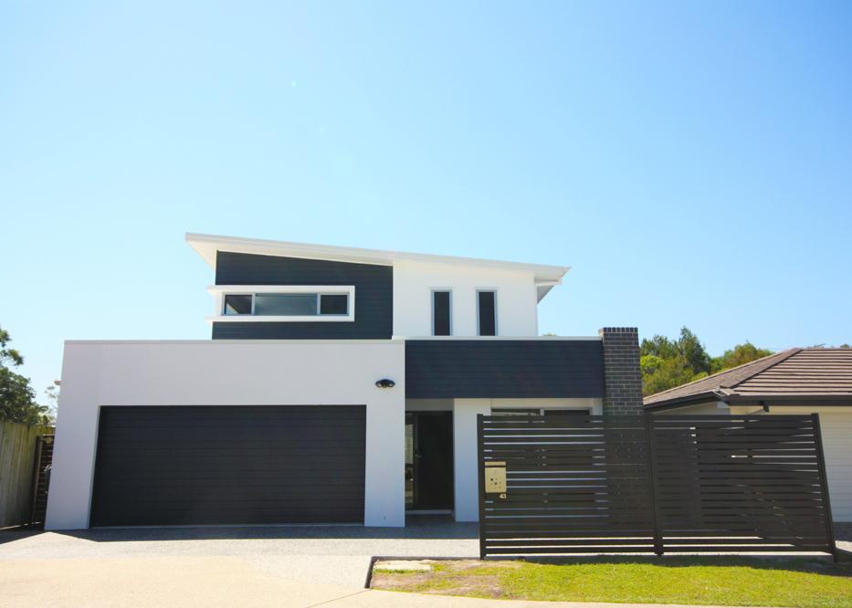 Modern Second Storey Extension Facade