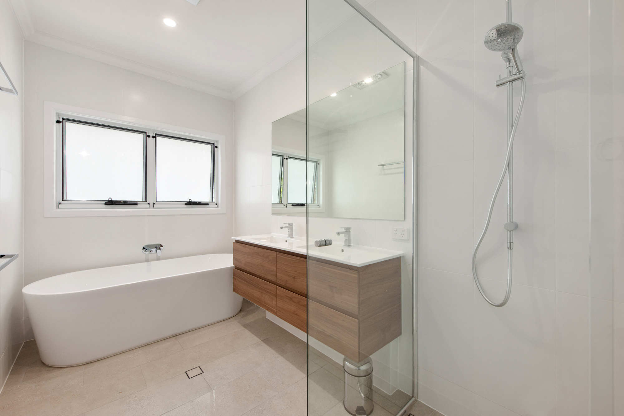 Bathroom for second storey extension St Lucia